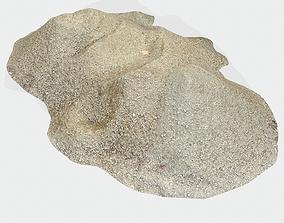 3D asset Pile Sand 01