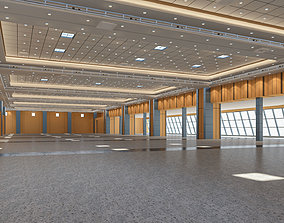 industrial Congress Center Hall 3D Model
