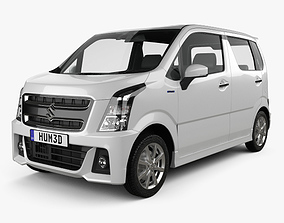 Suzuki Wagon R Stingray Hybrid 2018 3D