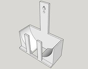 3D print model Amazon Echo Dot wall mount