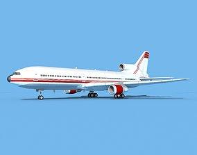 3D model Lockheed L-1011 TriStar Corporate 1