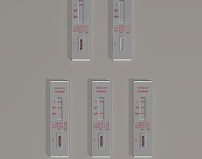 Rapid diagnostic test covid-19 3D model