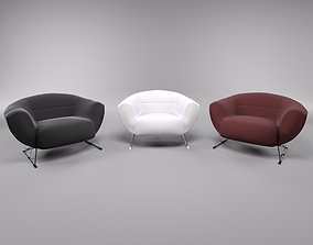 Armchairs 3D model