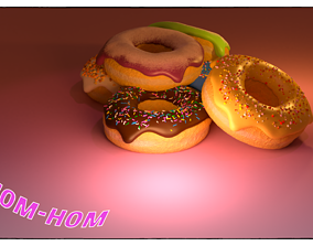 3D baked Donuts