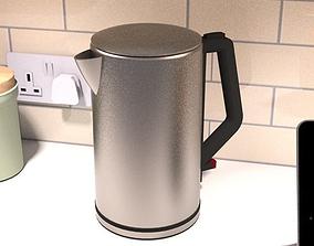 3D asset Cordless electric kettle