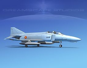 3D McDonnell Douglas F-4J Phantom II Spain