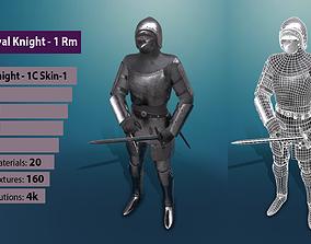 TAB Medieval Knight - 1Rm C - Skin1 3D model