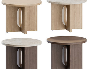3D Androgyne Side Table by Menu