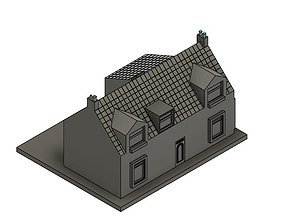 3D printable model Scottish Farm House