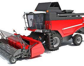 3D forage Combine Harvester