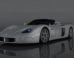 Maserati MC12 3D asset