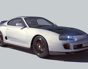 Toyota Supra 3dmodel 3D model