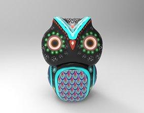 3D printable model Owl Alebrije