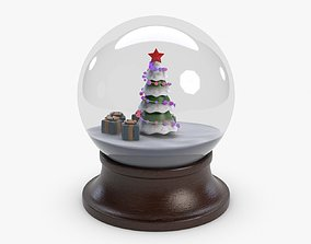 3D model New Year Orb