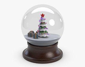 3D asset New Year Orb