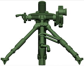 Mortar 3d print model combat