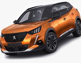 3D Peugeot 2008 2020