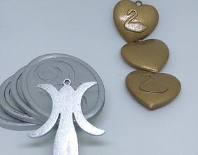 3D printable model Deathnote Misa necklace