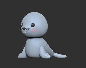 Little seal 3D print model