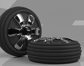concept Tyre or tire design 3D model