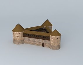 16th Century Fortress 3D asset