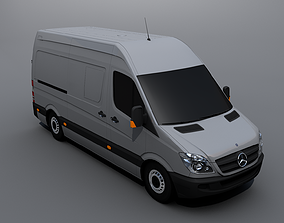 3D model Mercedes-Benz Sprinter