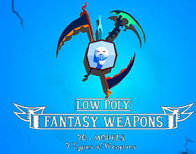 RPG Weapons Package 3D asset