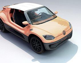 Volkswagen baggy Up 3D asset