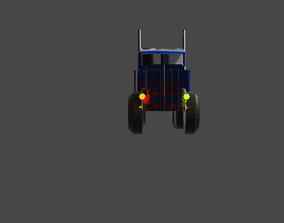 Optimus prime 3D model animated