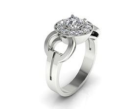 Ring 49 diamond 3D printable model
