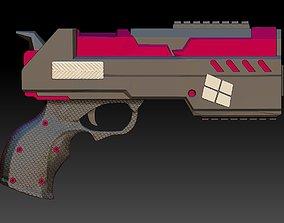 3D printable model Gun Harley Quinn