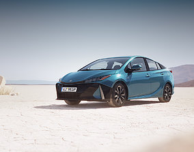 Hybrid sedan unbranded 3D