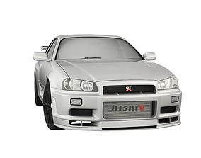 3D model Nissan Skyline R34 GTR