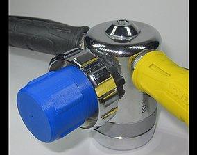 3D printable model SCUBA - DIN Regulator Dust Cap 02
