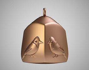 Bird Cage Necklace 3D print model