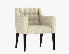Hampton Dining Chair 3D model