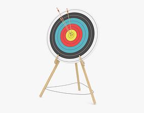 archery dart Target 3D model