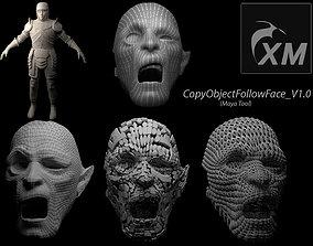 3D CopyObjectFollowFace