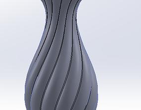 3D STL Model Flower Vase