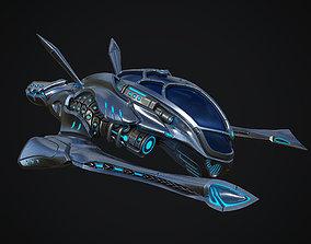 3D model PBR Starfighter