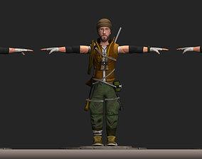 Jungle Cadet 3D model