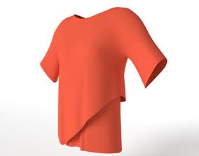 T-Shirt 3D asset game-ready