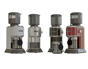 3D model COFFEE GRINDER DeLonghi KG521M 4 COLORS