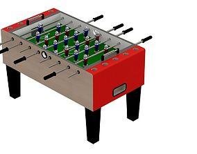voetbaltafel - soccer table - fussball 3D model