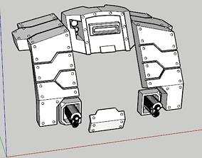 Heavy Cybot Seigebreaker Armour Mk2 3D print model