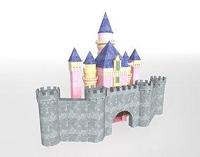 Disneyland Castle v1 001 3D model