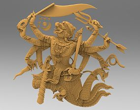 3D printable model Hanumarn-Ramayana Actor combinator
