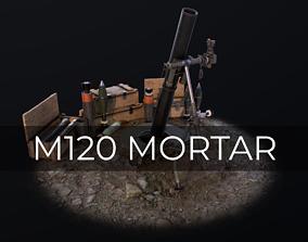 M120 Mortar Tampella 3D model