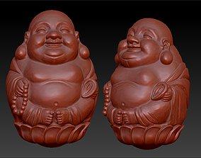 3d Model Buddha Statue Beaded 3D model