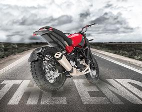 benelli leoncino 3D motorcycle